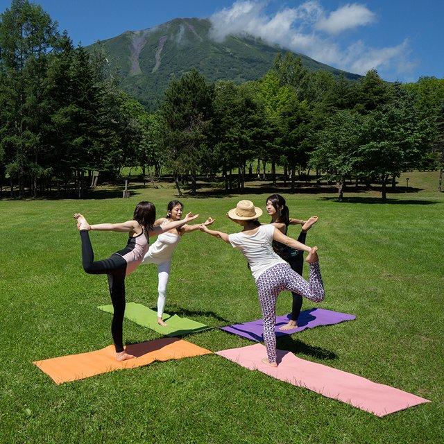 Summer Yoga Retreat in Niseko