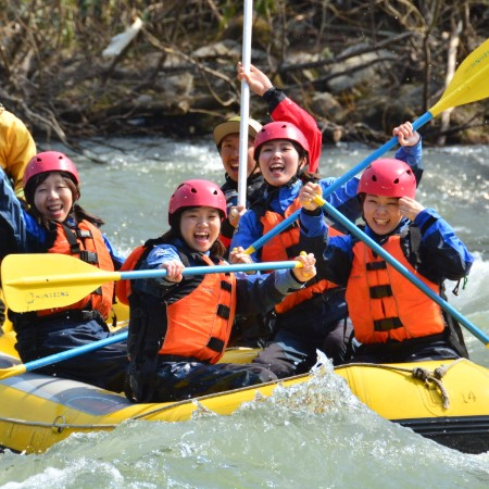 hanazono-rafting