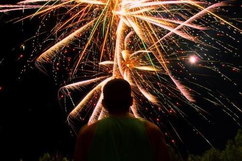 Niseko 2019 summer festival fireworks small