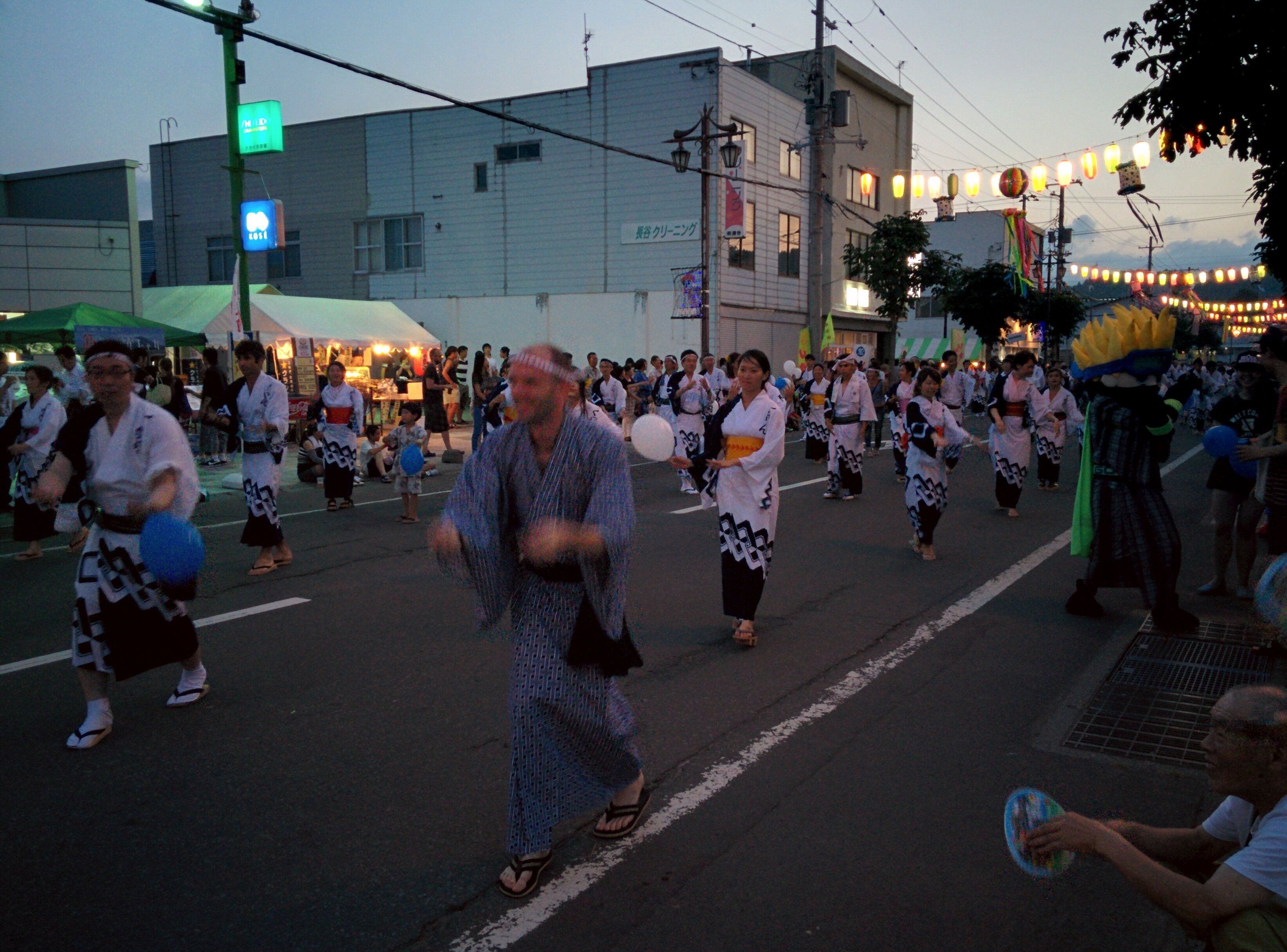 Kutchan Jaga Matsuri Parade