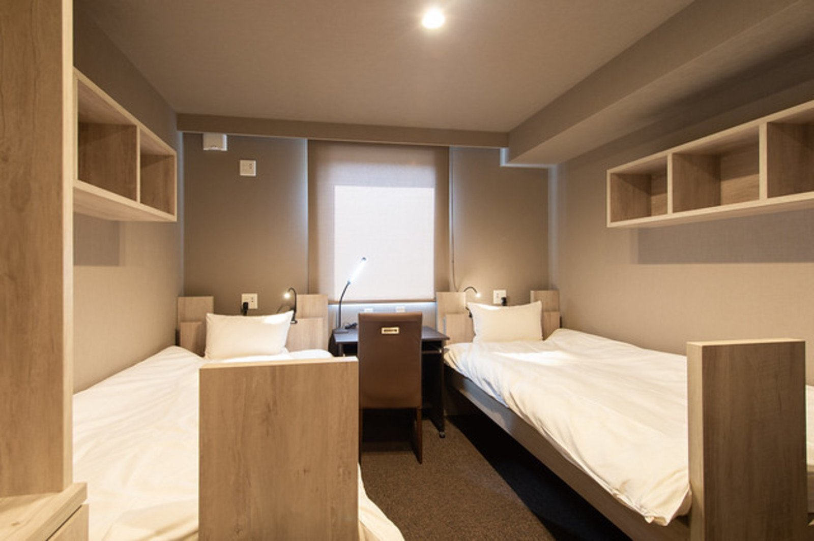 Midtown Niseko Twin Room, perfect for couple or duo travelers