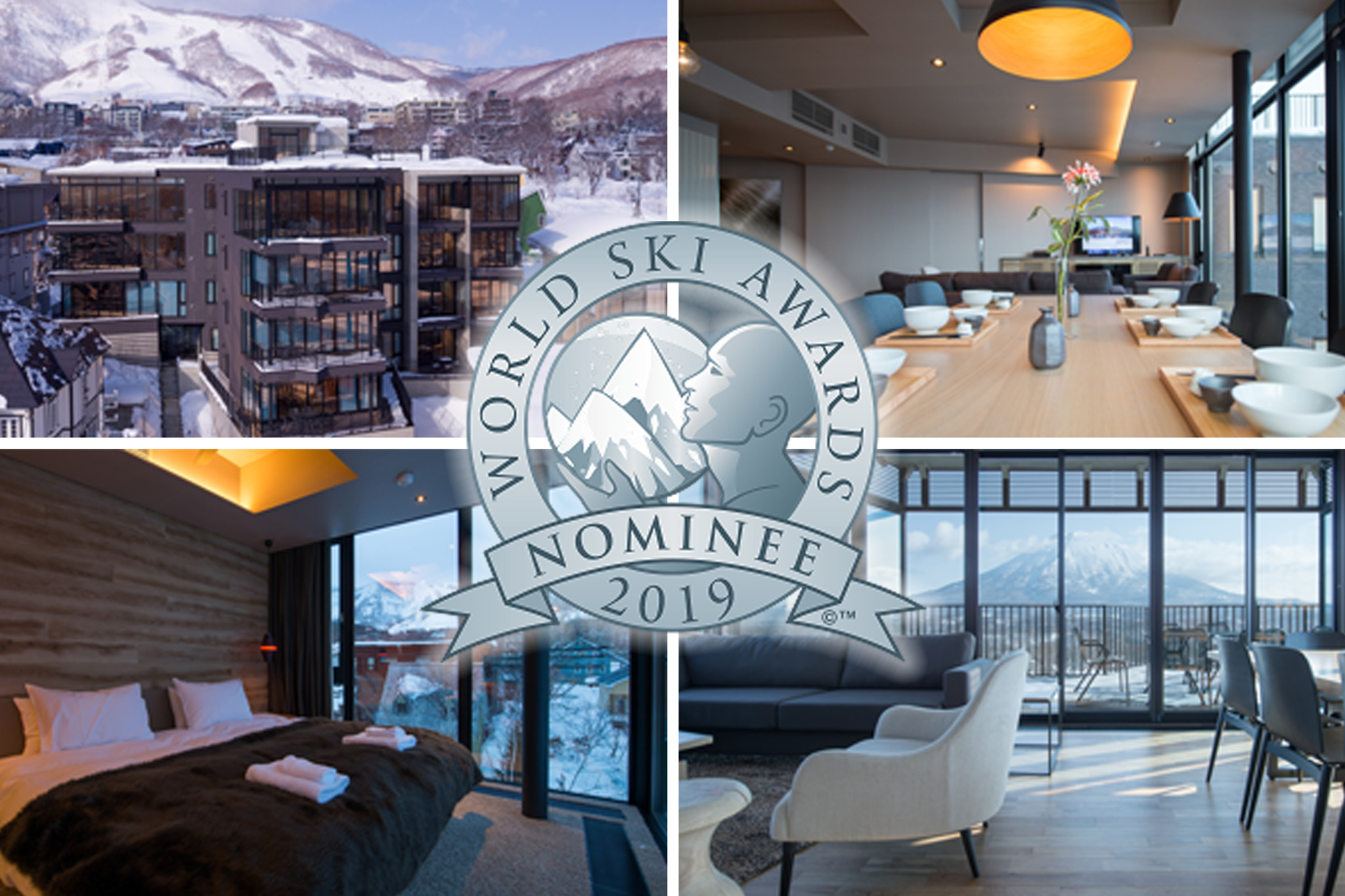 Aspect is nominated for Japan's Best Ski Chalet in the 2019 World Ski Awards.