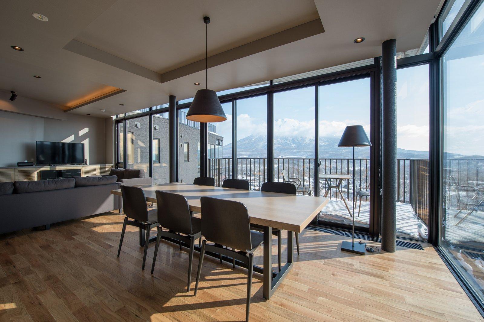 A top floor 2 bedroom apartment in Aspect Niseko.