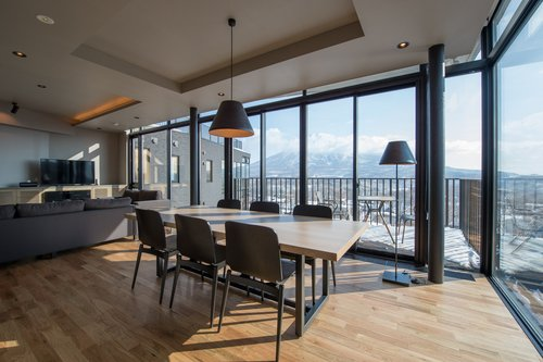 A top floor 2 bedroom apartment in Aspect Niseko.