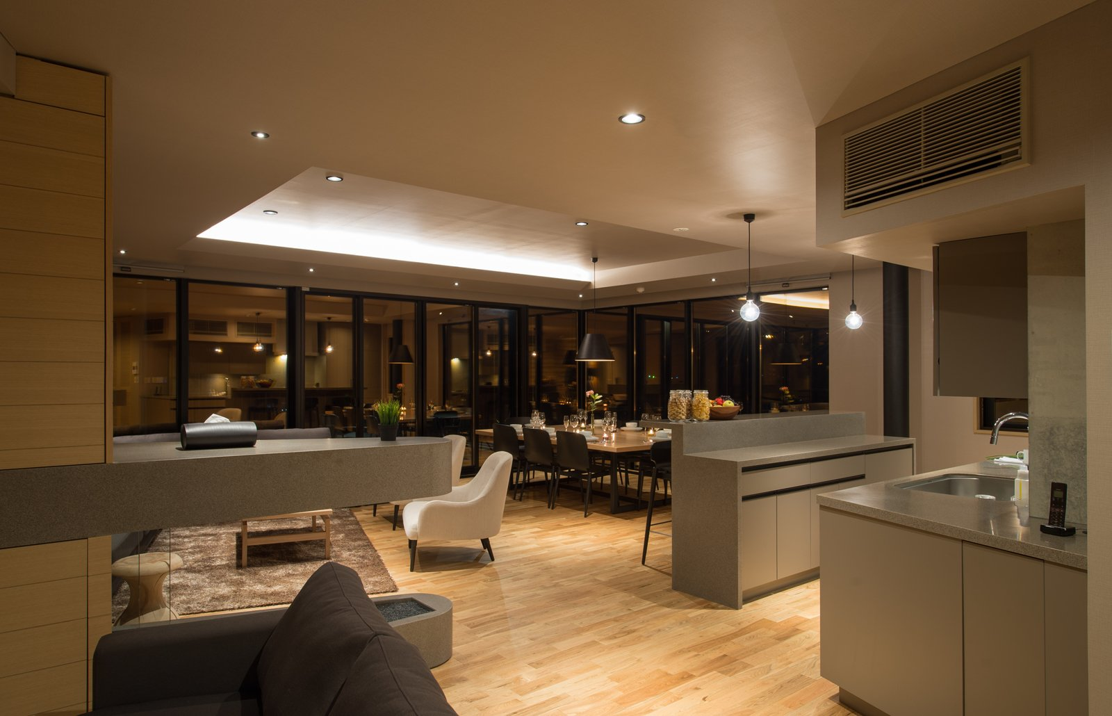 A 3 bedroom platinum top floor apartment in Aspect Niseko.