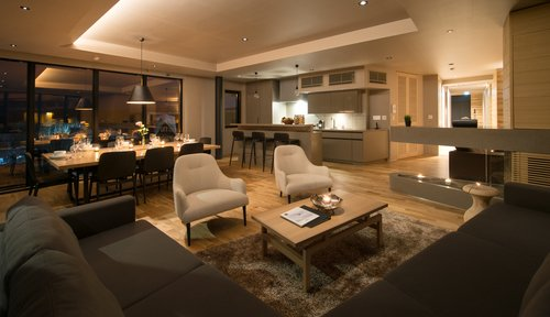 A 3 bedroom platinum ground floor suite in Aspect Niseko.