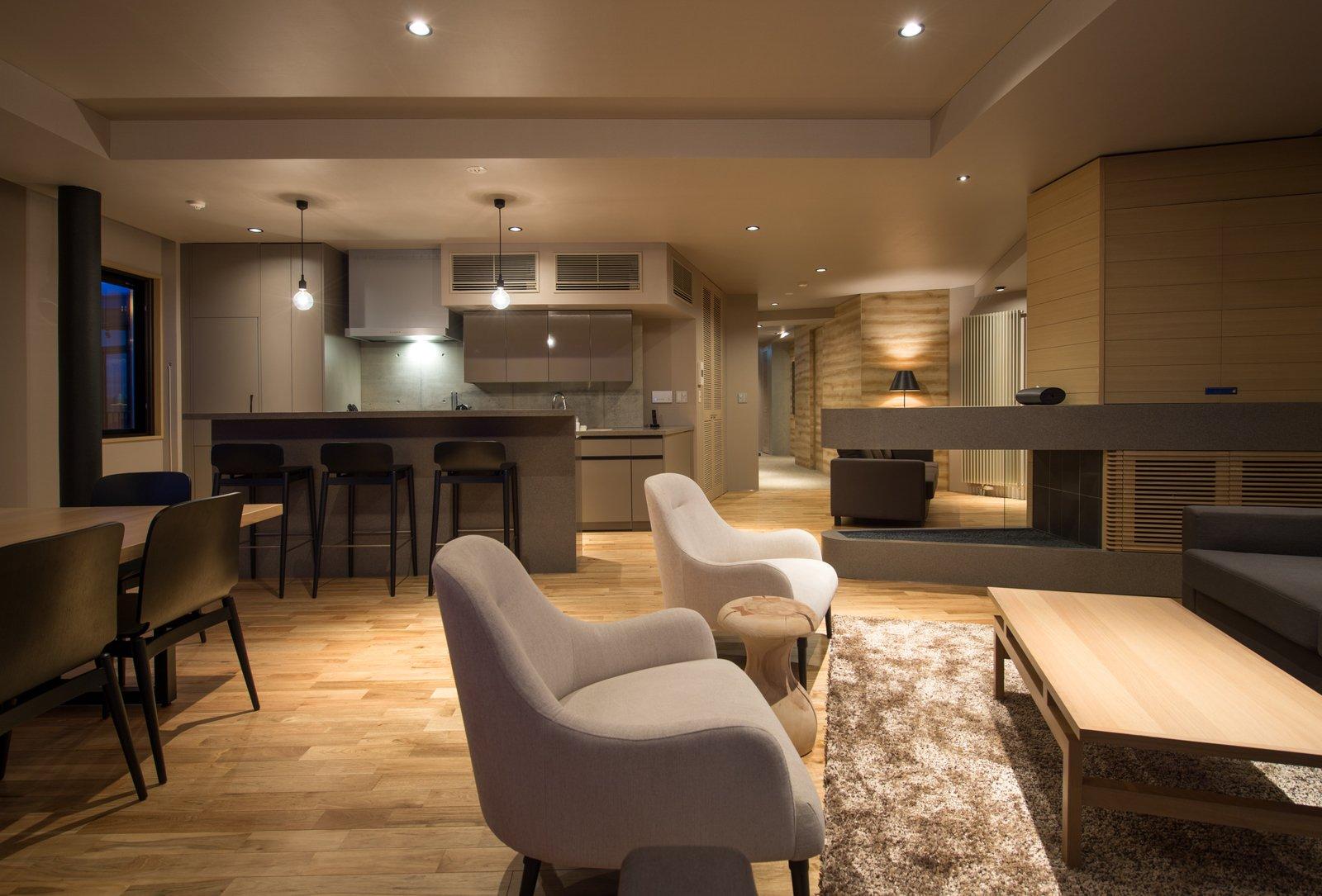 A 5 bedroom apartment in Aspect Niseko.