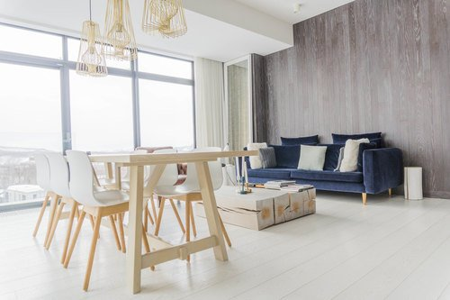 Room 401, a top floor 2 or 3 bedroom apartment in LOFT Niseko.