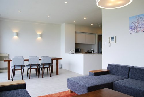 A 2 bedroom premium apartment in Niseko Landmark View.