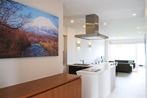 A 3 bedroom Deluxe apartment in Niseko Landmark View,