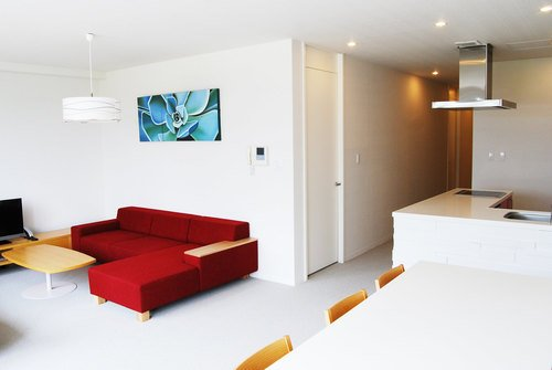 A 2 bedroom Deluxe apartment in Niseko Landmark View.
