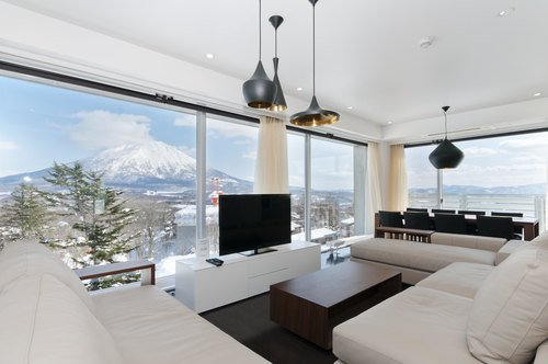 The 3 bedroom Penthouse in Kizuna, Niseko.