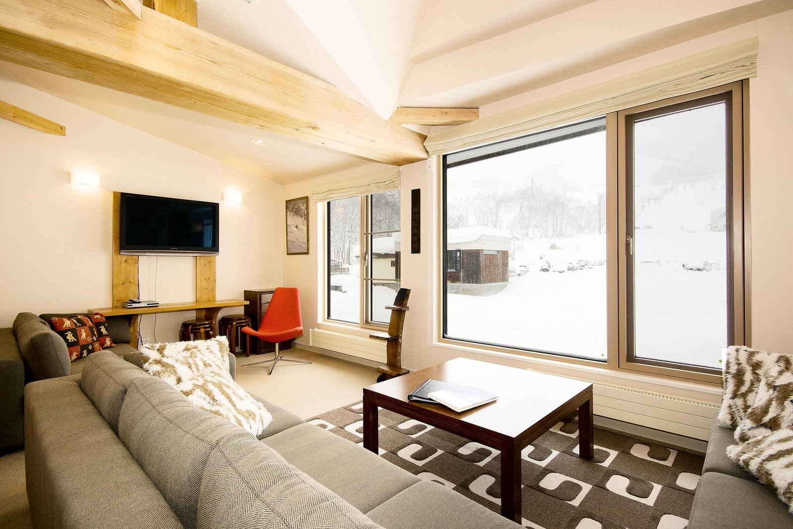 A 3 bedroom townhouse in Gondola Chalets, Niseko.