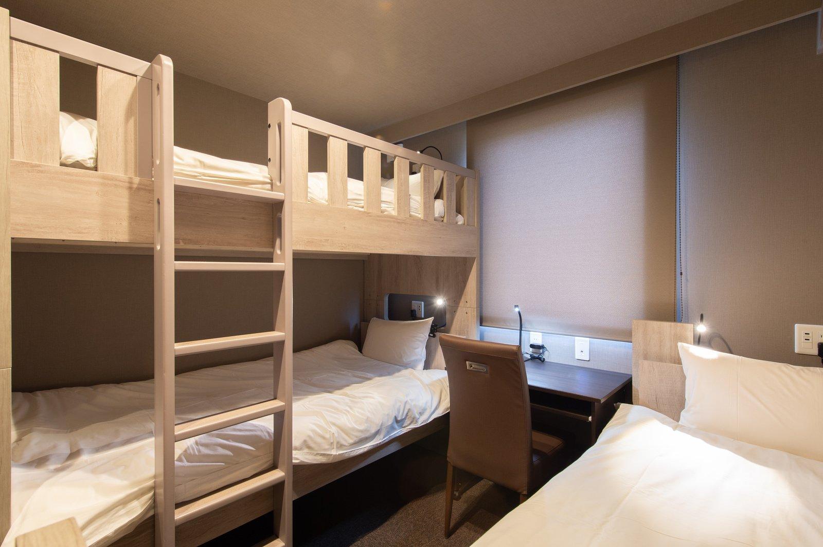 A triple room in Midtown Niseko.