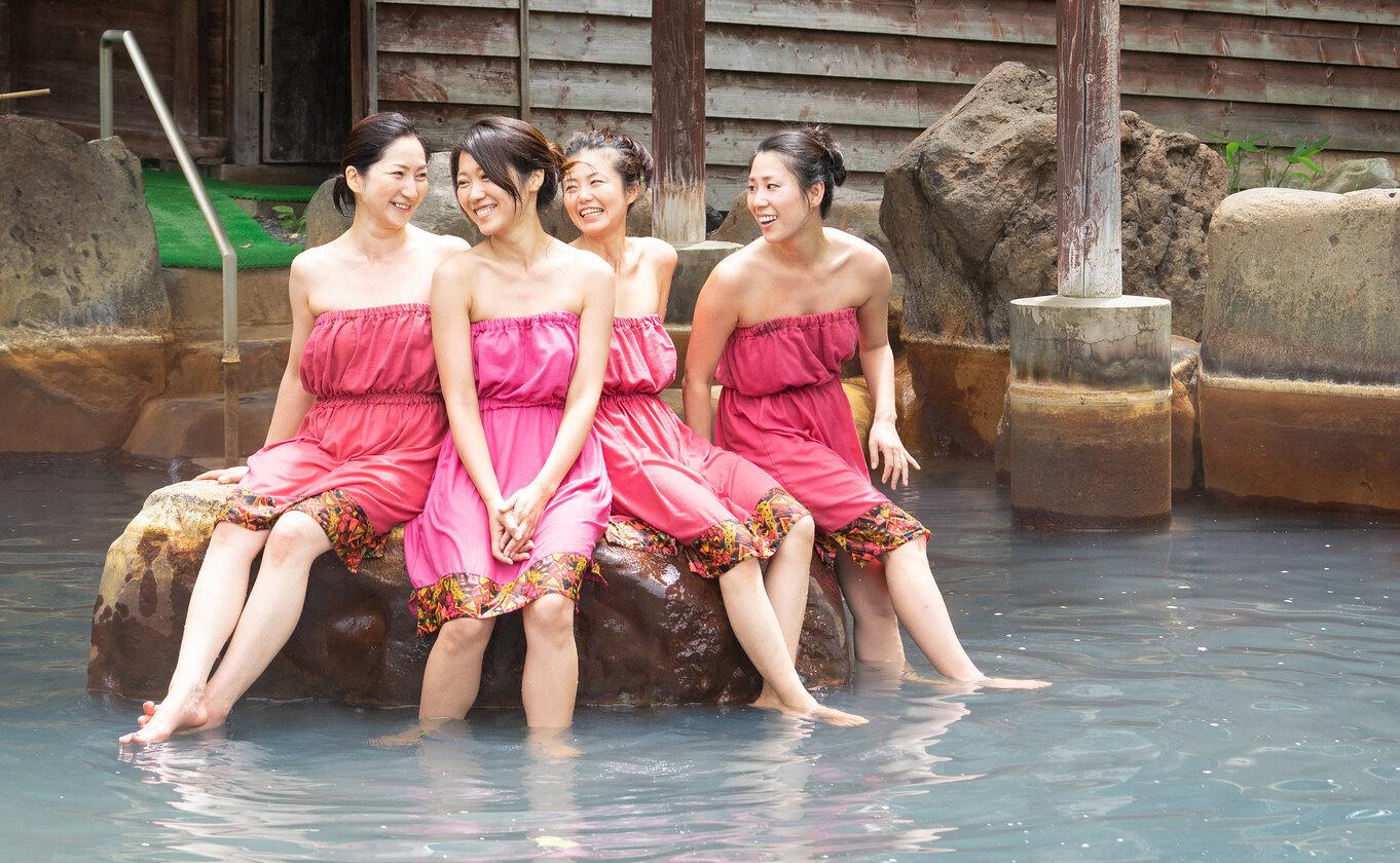二世古男女共浴的混合式溫泉