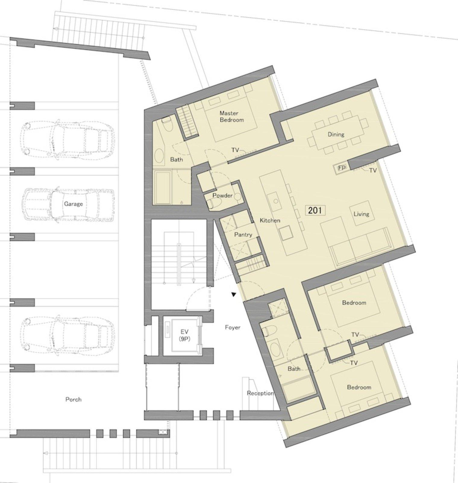 Terrazze 3 bedroom alpine view apartment 201 large
