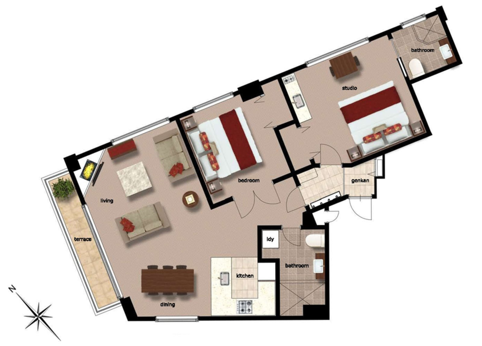 Freshwater 2 bedroom freshwater apartment 01 large
