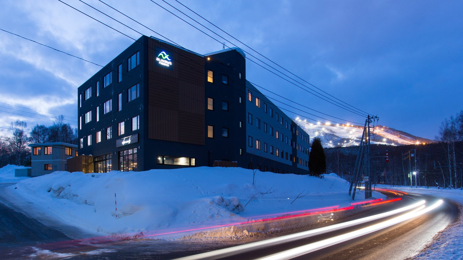 Always niseko exterior night large