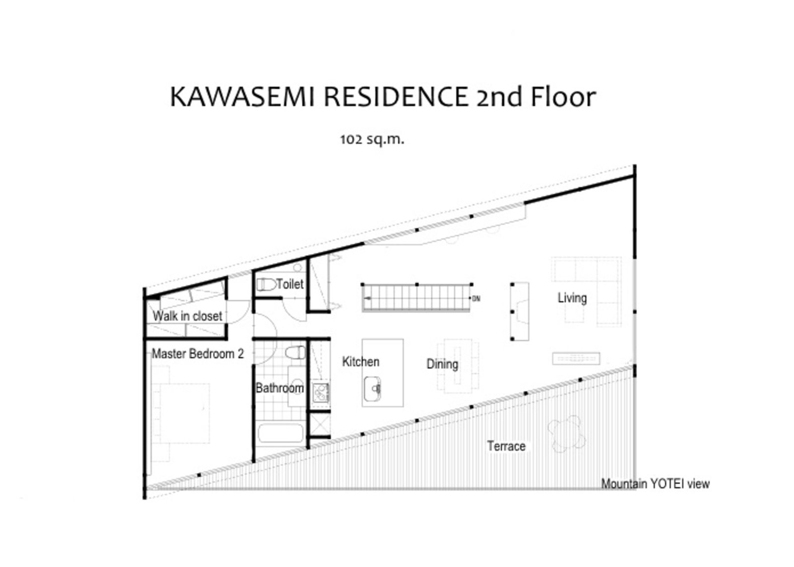 Kawasemi residence 2nd floor floor plan large