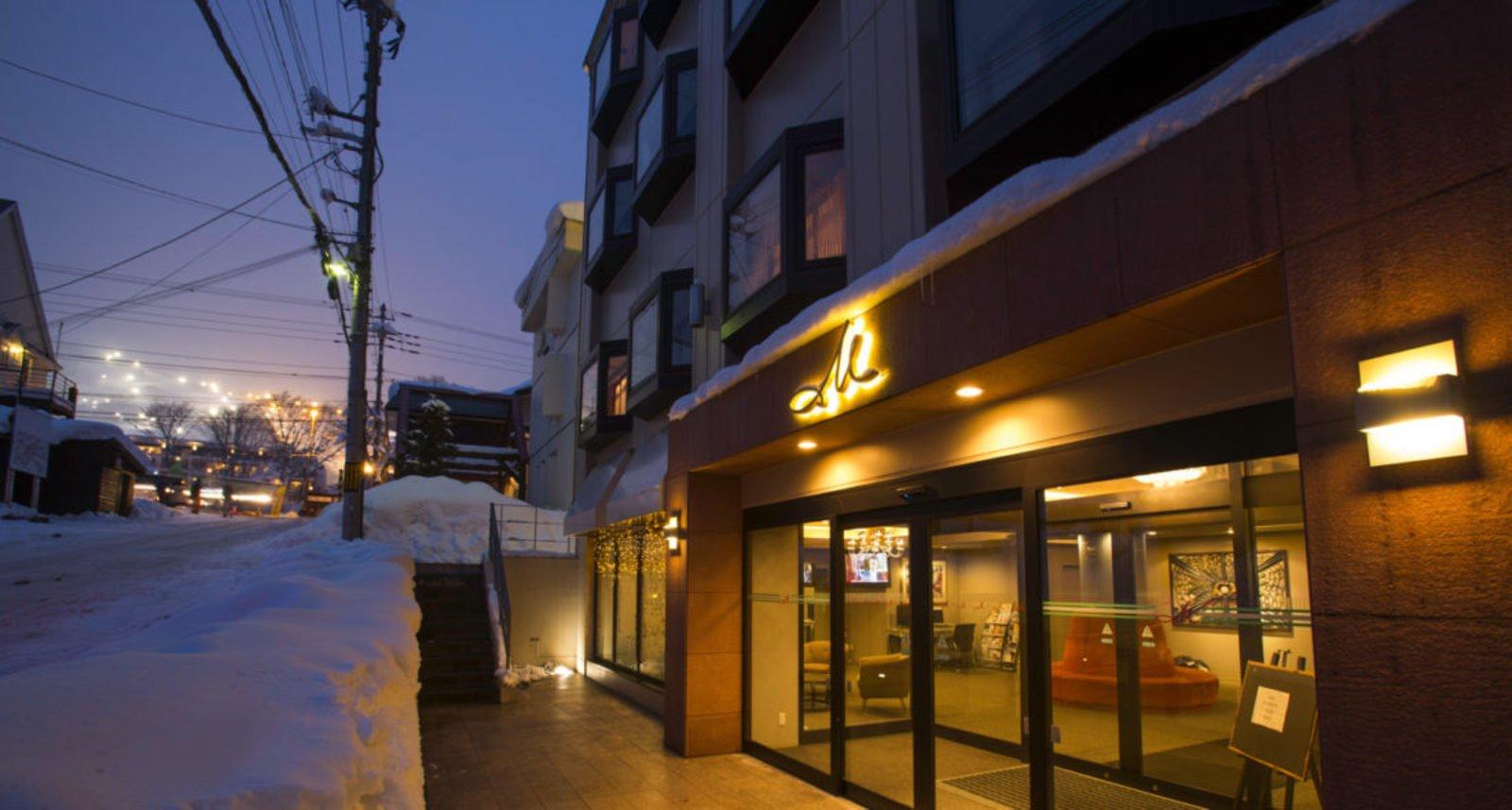 M hotel exterior large