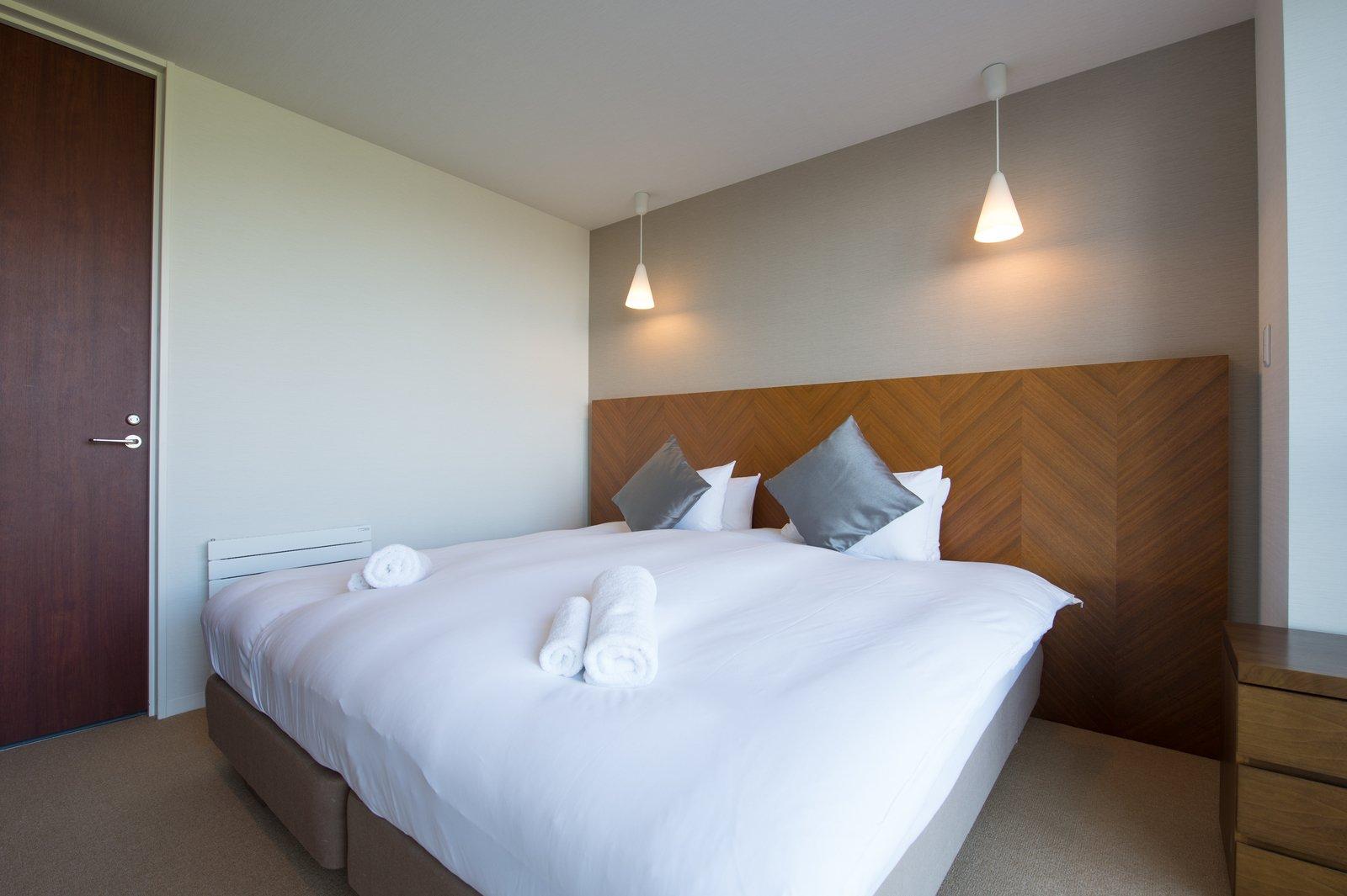 Niseko landmark view 2 bedroom deluxe bedroom large