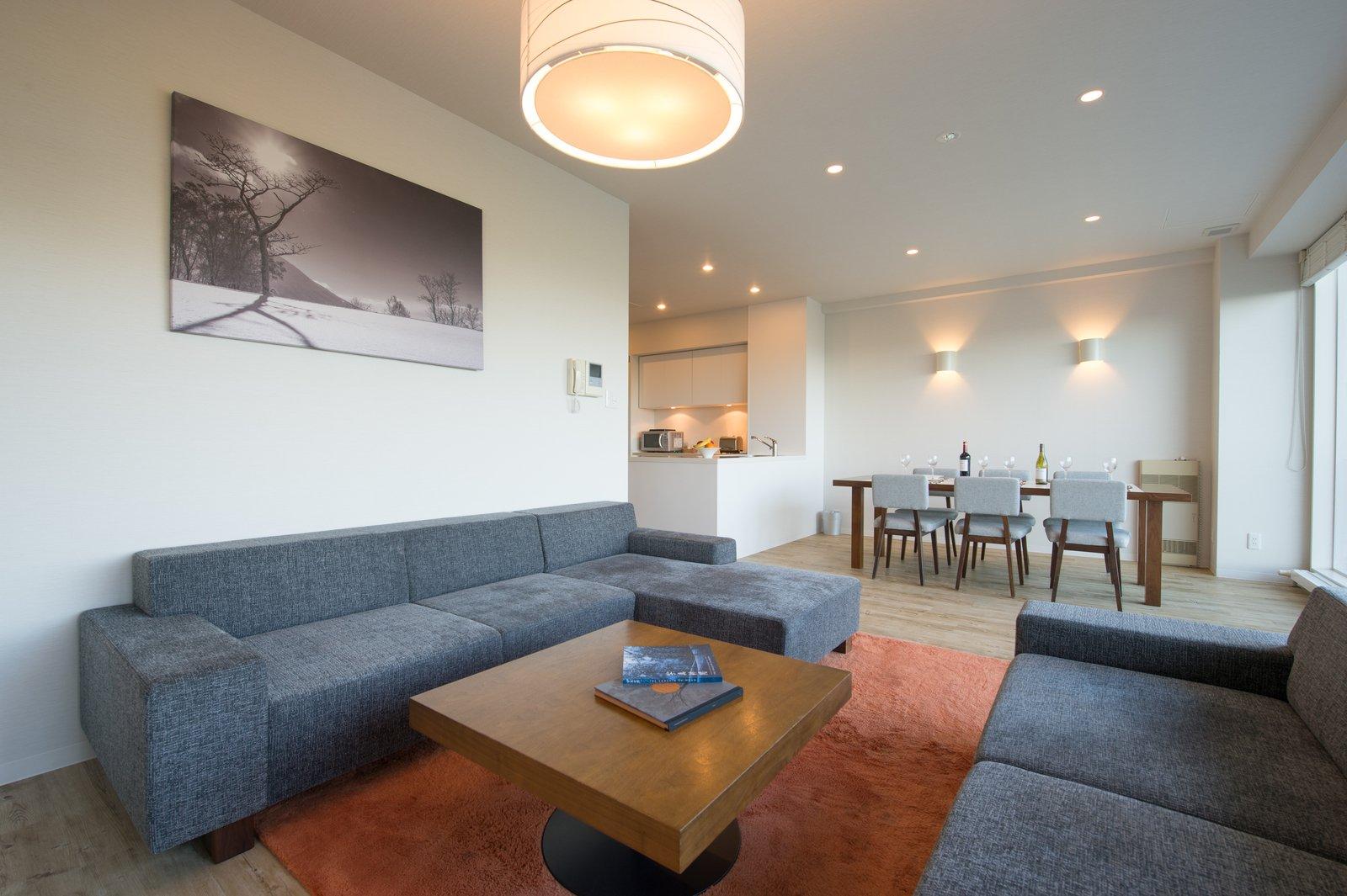 Niseko landmark view deluxe 2 bedroom living ro large