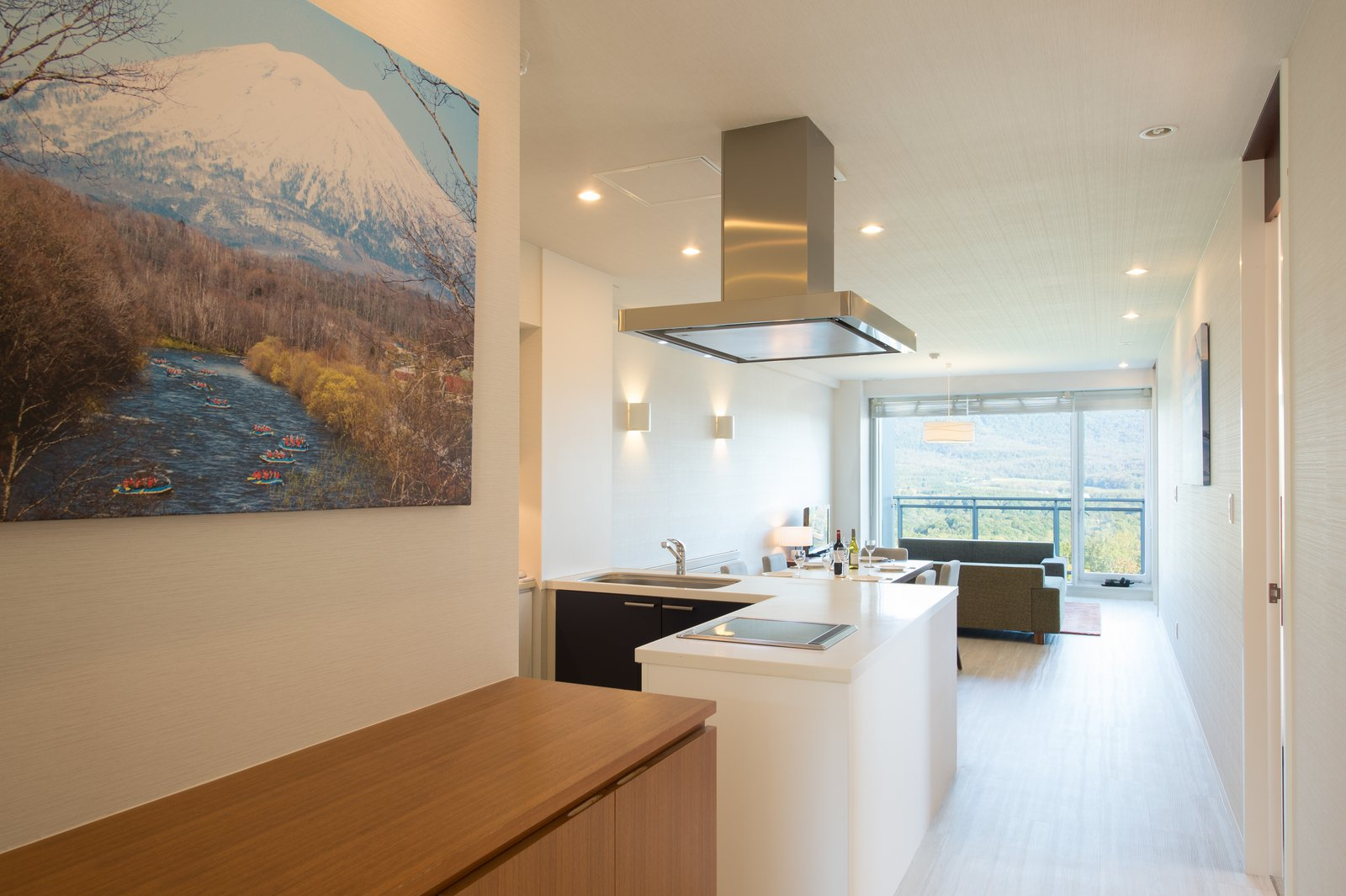 Niseko landmark view 3 bedroom deluxe living room large