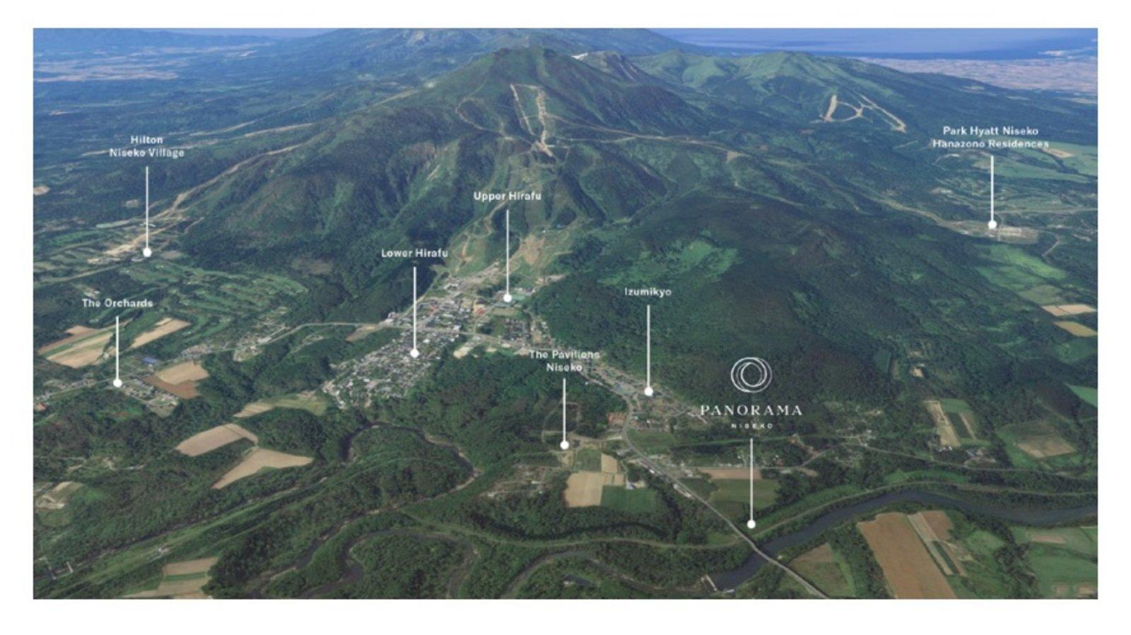 Panorama niseko aerial 1 large