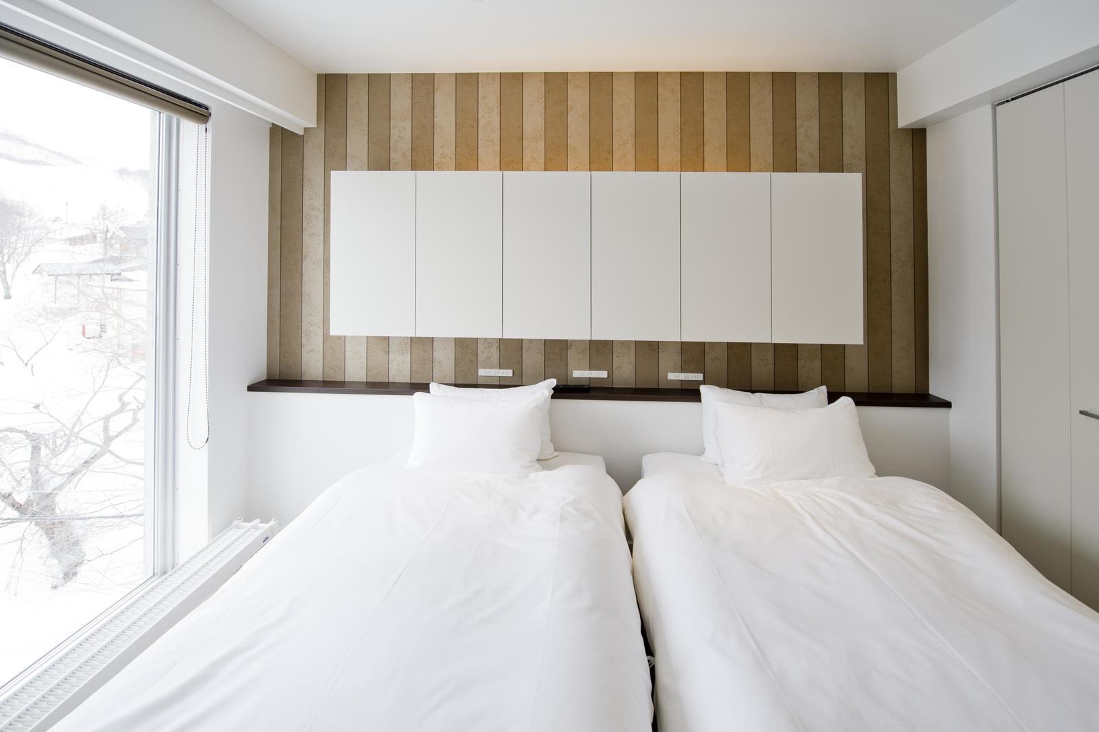 Kizuna premium apartment bedroom large