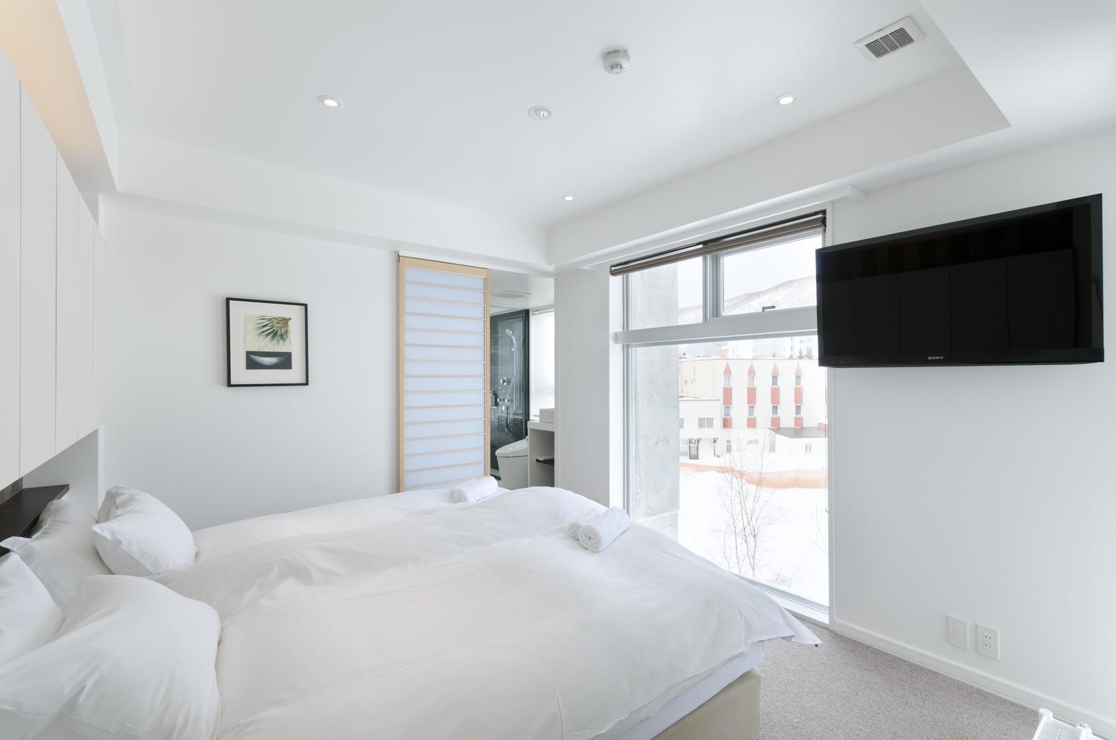 Kizuna 2 bedroom premium apartment bedroom large