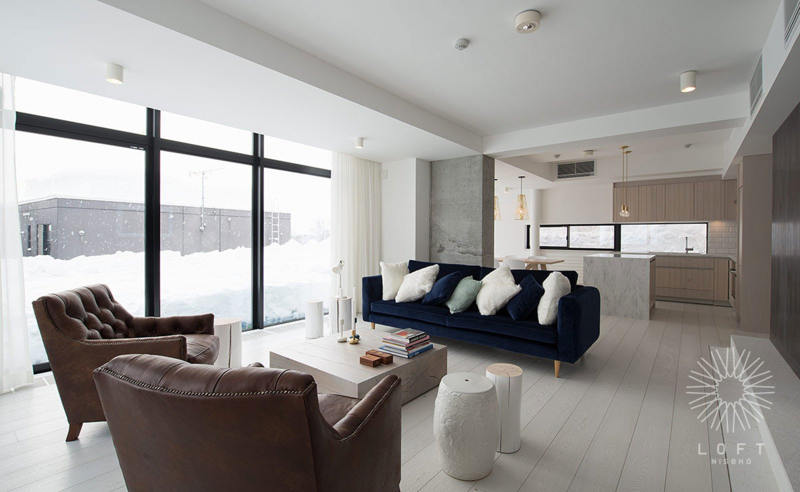 LOFT 101 living room niseko