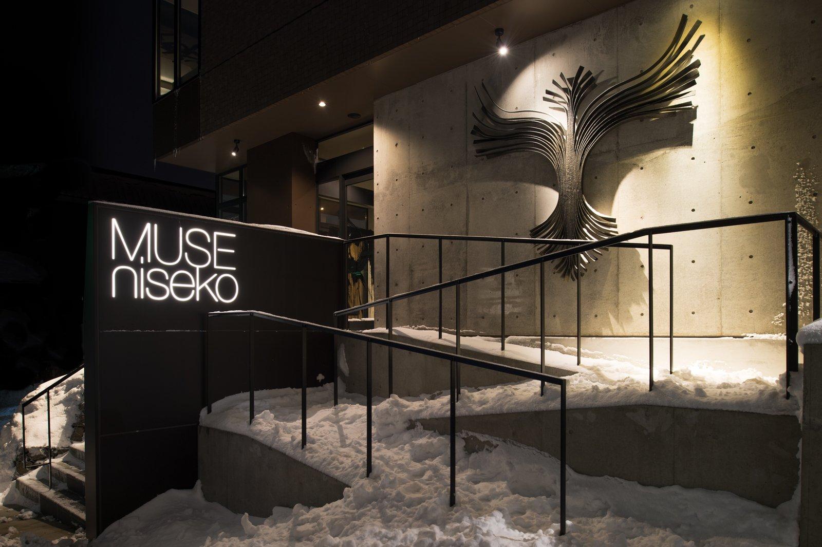 Muse niseko entrance art large