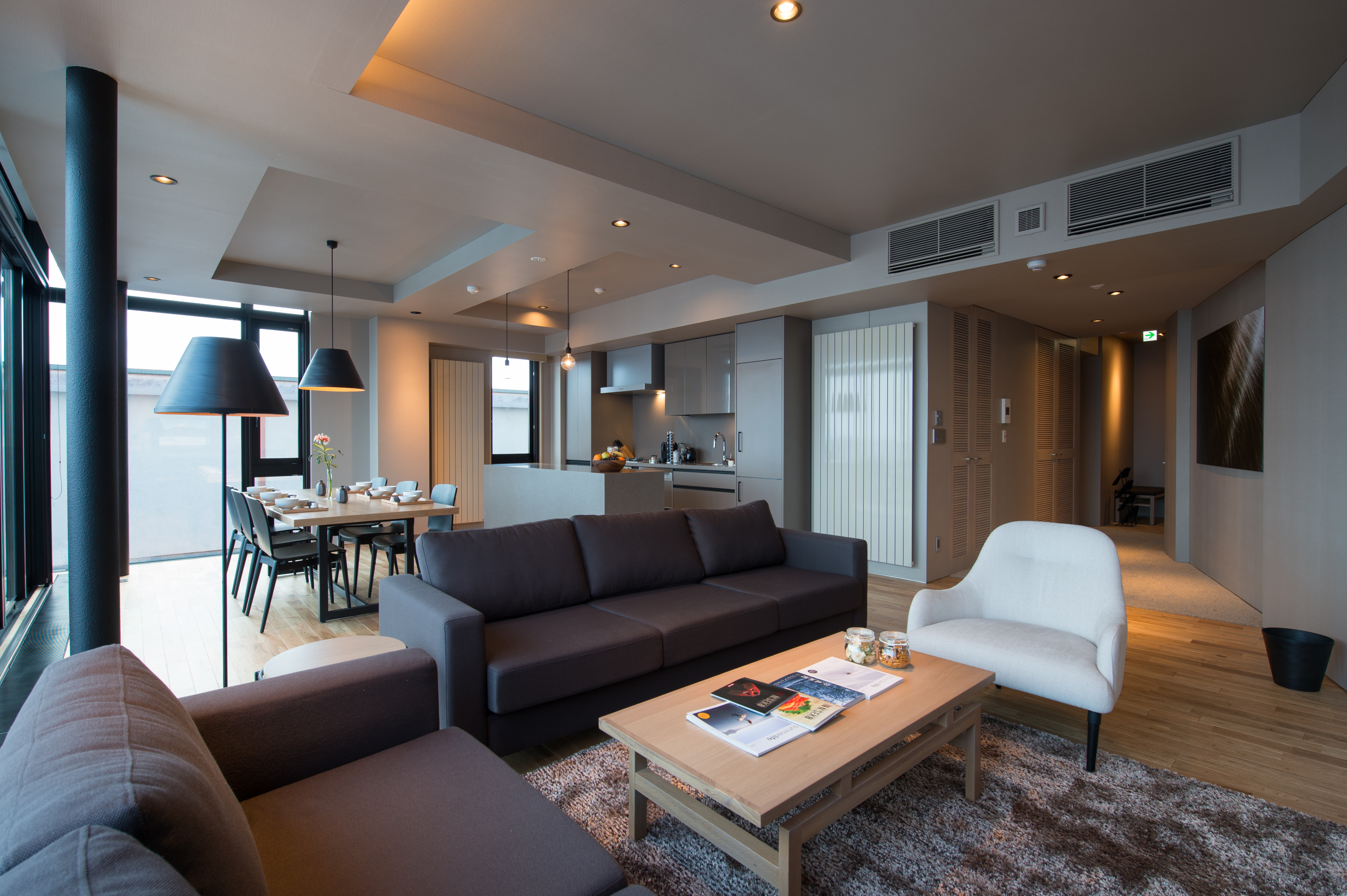 aspect niseko living room