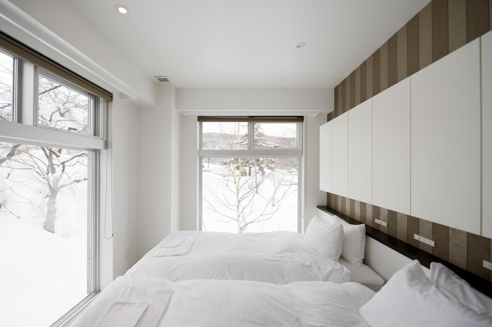 Kizuna 2 bedroom deluxe apartment bedroom large