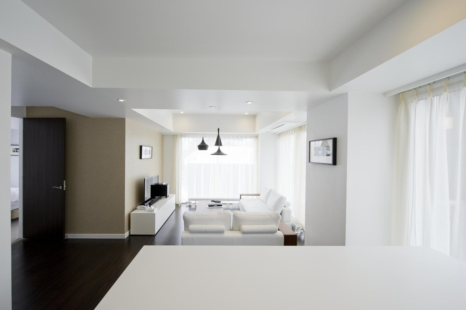 Kizuna 2 bedroom deluxe apartment living room large