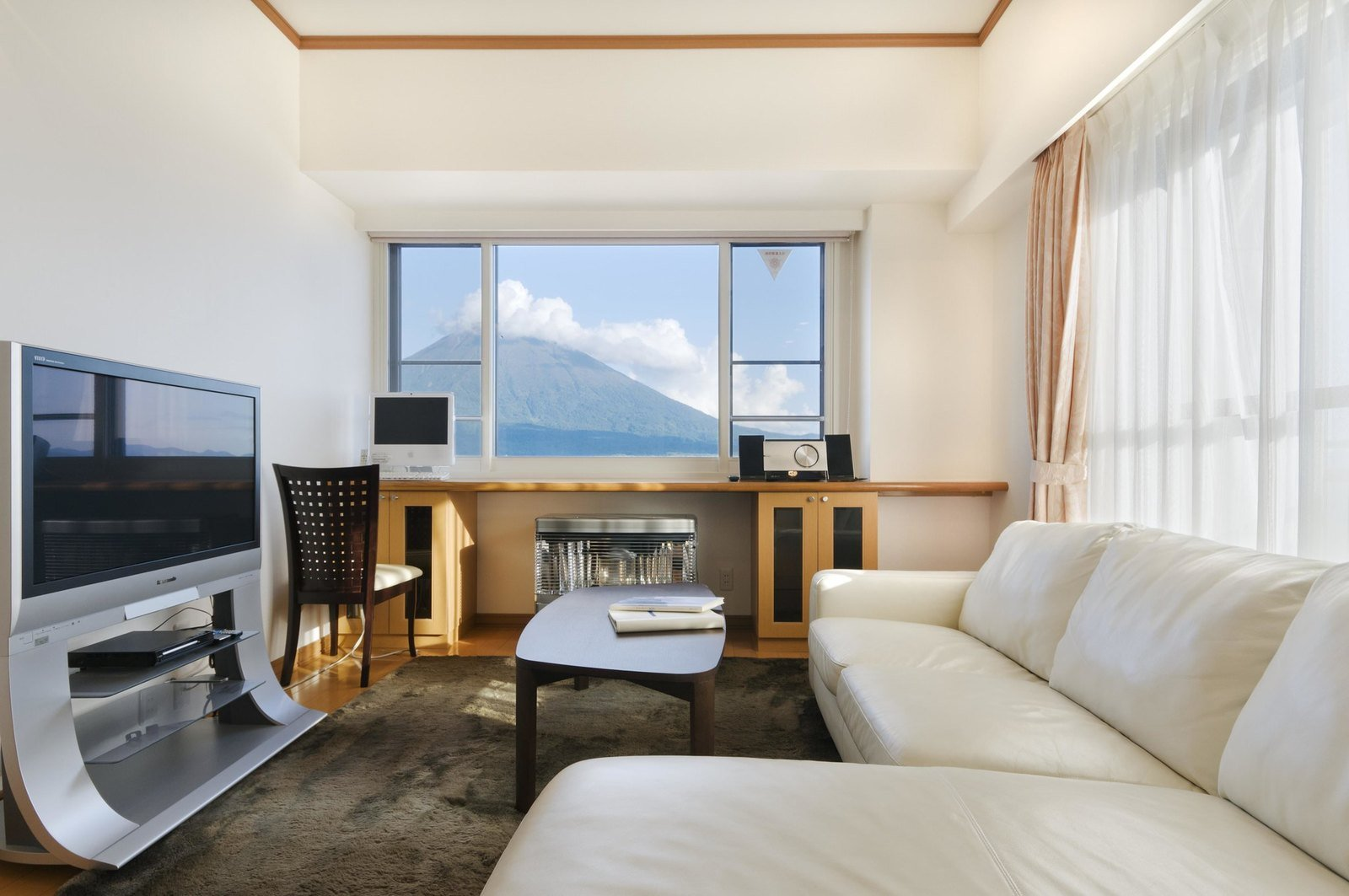 A 2 bedroom Deluxe apartment at Mountainside Palace in Niseko.