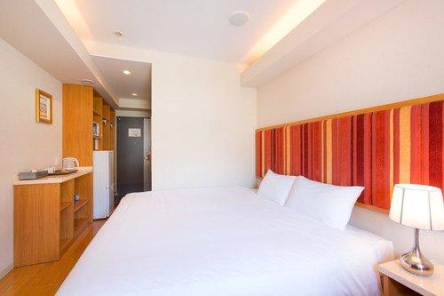 A standard room at M Hotel in Niseko.