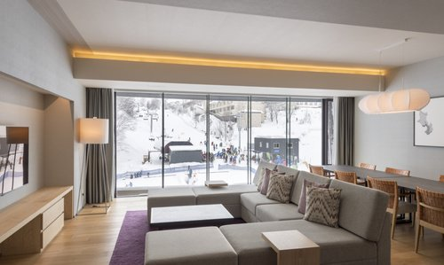A 3 bedroom resort view apartment at AYA Niseko.