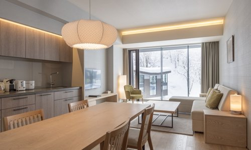 A 2 bedroom apartment with Resort view in AYA Niseko.