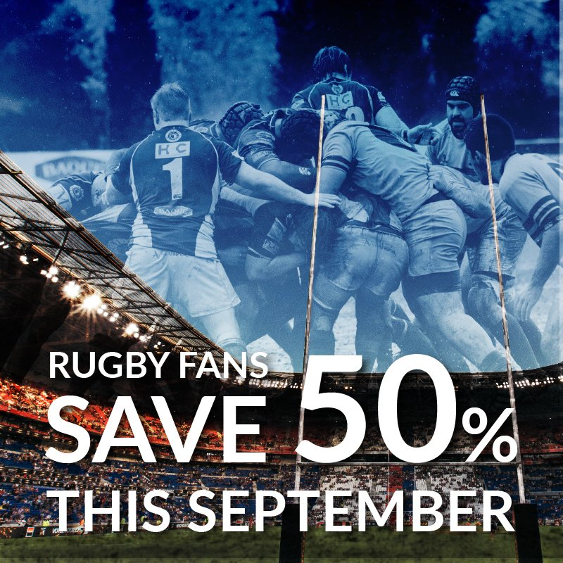Rugby World Cup Special Offer