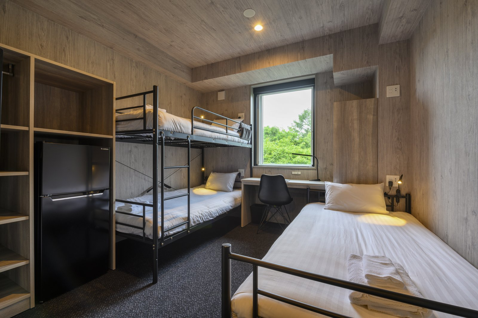 Inside the triple room of Midtown Niseko