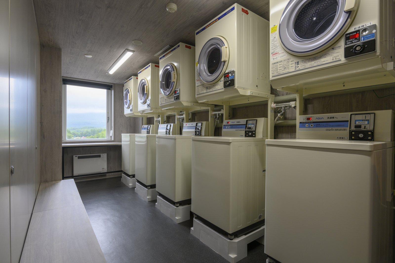 Midtown niseko laundry room large