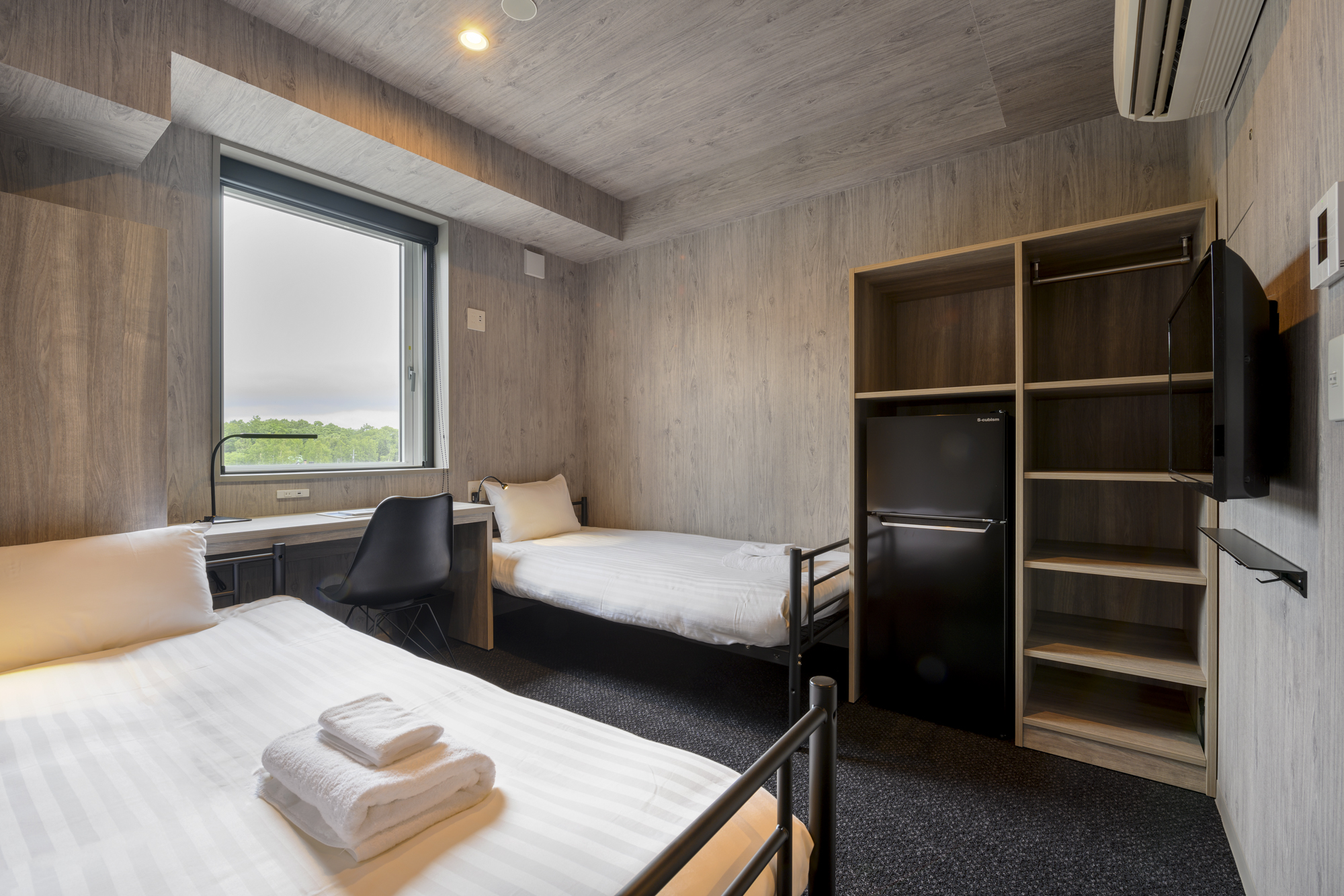 Midtown Niseko - Twin room/Metal frame Bed 578