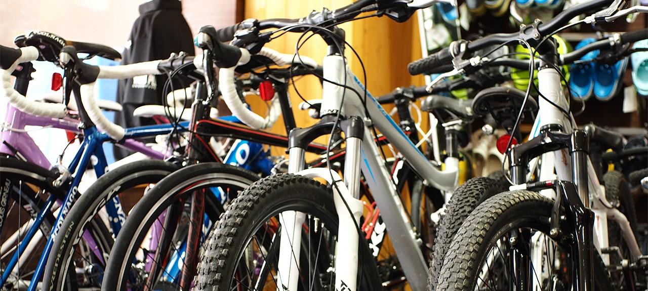 Rental bike at niseko sports hirafu