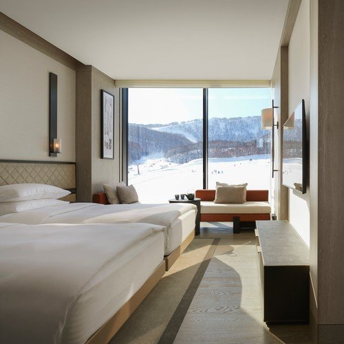 park hyatt niseko twin mountain view room hanazono accommodation