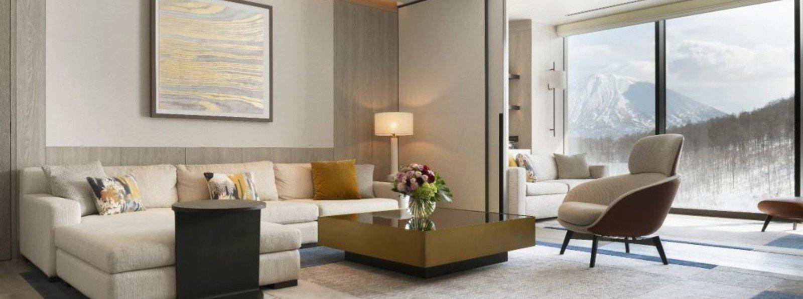 park hyatt niseko hanazono accommodation suite living room