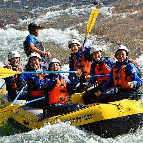 niseko hanazono shiribetsu rafting summer activity hokkaido