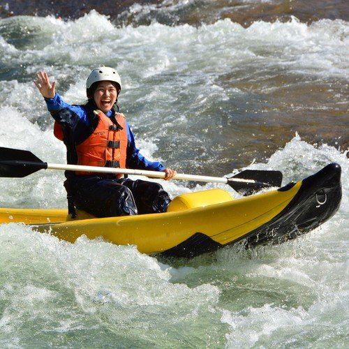 hokkaido niseko hanazono ducky inflatable boat rafting tour shiribetsu river summer activity