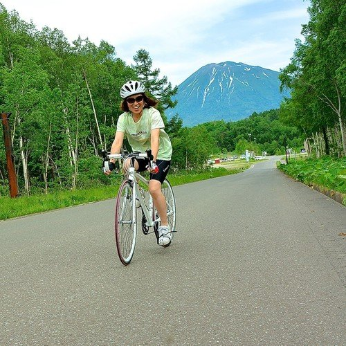 road bike mountain bike rentals tours niseko hokkaido summer activity