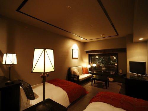 la vista hakodate outdoor onsen hotel deluxe twin room
